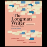 The Longman Writer 8th Edition Rhetoric and Reader Concise