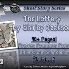 The Lottery by Shirley Jackson Short Story Unit Study Common Core