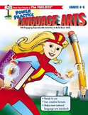 The Mailbox's Power Practice Language Arts  Grades 4-6  Fr