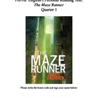 The Maze Runner Reading Test