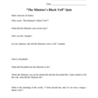 The Minister's Black Veil Quiz