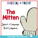 The Mitten: Book Companion for Preschool Speech and Language