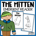 The Mitten Book {Emergent Reader}