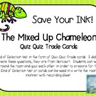 The Mixed Up Chameleon Quiz Quiz Trade Cards