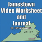 Jamestown Lesson Plan Collection and Video Worksheet (Grea