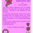 The Night Before Valentine's Day Comprehension Fun!