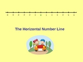 The Number Line - Powerpoint
