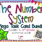 The Number System Mega Task Card Bundle