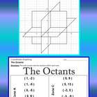 The Octants - 3 Intersecting Planes - Coordinate Graphing