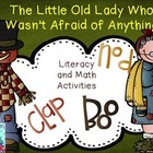 The Old Lady Who Wasn't Afraid of Anything Math and Literacy Pack