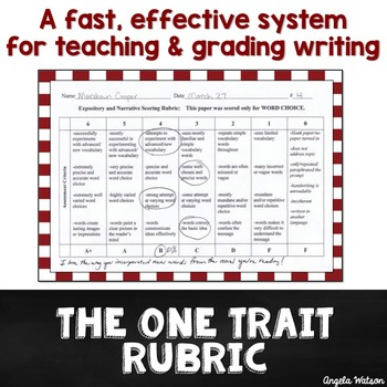 The One Trait Rubric: A fast & effective system for grading student writing