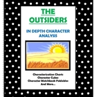The Outsiders - Character Analysis Activities