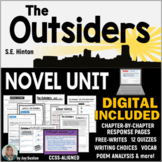 OUTSIDERS - Student-Ready Novel Unit