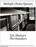 The Outsiders by S.E. Hinton Multiple Choice Chapter Quizzes
