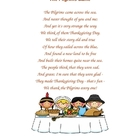 The Pilgrims Came poem