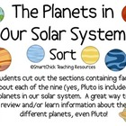 The Planets in Our Solar System Sort Packet