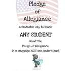 The Pledge of Allegiance For  Book Kids