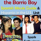 The Princess and the Barrio Boy Movie Packet in Spanish