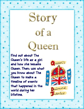 The Queen's Diamond Jubilee - Comprehension and Timeline A
