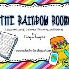 The Rainbow Room Classroom Labels