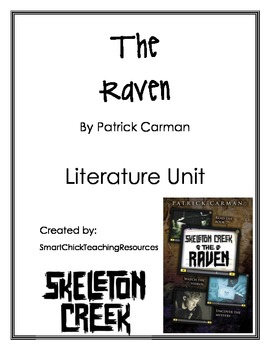 """The Raven"", by P. Carman, Literature Unit (book # 4 of series)"