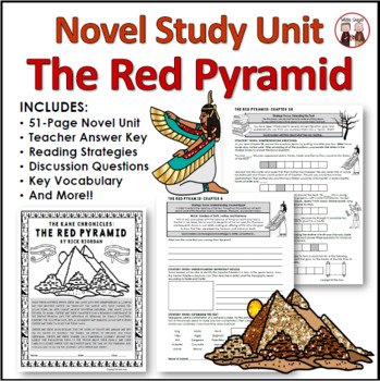 The Red Pyramid Reading Comprehension Activity Guide