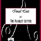 The Scarlet Letter Final Test