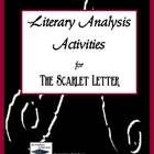 The Scarlet Letter Literary Analysis Activities