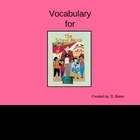 The School Mural Vocabulary Houghton Mifflin Series