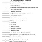 The Secret Life of Bees Ch. 1 Scavenger Hunt & KEY (50 q)