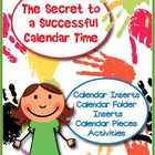 The Secret to a Successful Calendar Time- Calendar Activities