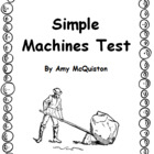 The Simple Machines Test