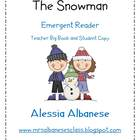 The Snowman - Teacher big book and student emergent reader