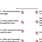 The Snowy Day Fun Literacy and Math Activities