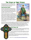 The Story of St. Patrick's Day Reading, Worksheet, and Cel