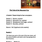 """The Tale of the Mountain Cat"" A Readers Theatre Script [T"