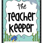 The Teacher Keeper {Organizational Binder in Ocean Theme}