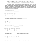 """The Tell-Tale Heart"" Valentine's Day Puzzle"