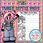 The Three Little Pigs with Literacy Activities