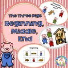 The Three Pigs, Retelling and Sorting