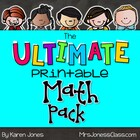 The ULTIMATE Printable Math Pack