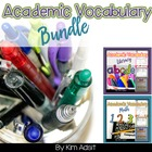 The Ultimate Academic Vocabulary Interactive Journal Bundl
