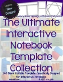 The Ultimate Interactive Notebook Template Collection (Bla