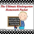 The Ultimate Kindergarten Homework Packet