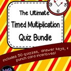 The Ultimate Timed Multiplication Quiz Bundle