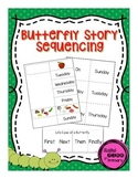 Butterfly Story Sequencing