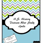 The Vietnam War Study Guide
