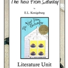 The View From Saturday by E.L. Konigsburg Literature Unit