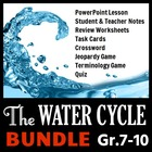 The Water Cycle - LESSON BUNDLE