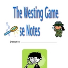 The Westing Game--Reading Response Packet